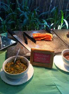 another winner- thrice cooked pork belly with mango cillantro salsa